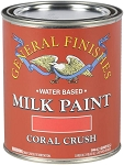 General Finishes Milk Paint Coral Crush Quart