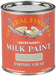 General Finishes Milk Paint Empire Gray Quart