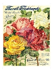 Iron Orchid Designs Décor Transfer - Floral Treasure 24x36