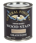 General Finishes Water Based Wood Stain - Graystone Pint