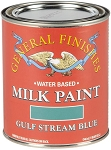 General Finishes Milk Paint Gulfstream Blue Quart