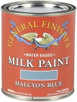 General Finishes Milk Paint Halycon Blue Quart