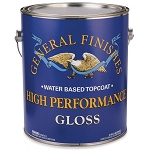 General Finishes High Performance Water Based Top Coat Pint - Gloss