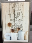 Iron Orchid Design Decor Transfer- Farmer's Market 18