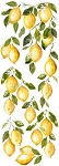 Lemon Drops Decor Transfer (12x33)