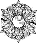 Iron Orchid Designs Décor Transfers Medallion