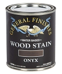 General Finishes Water Based Wood Stain - Onyx Pint