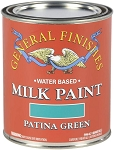 General Finishes Milk Paint Patina Green Quart