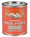 General Finishes Milk Paint Perfect Gray Pint