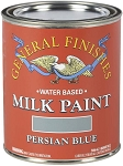 General Finishes Milk Paint Persian Blue Quart