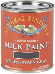 General Finishes Milk Paint Queenstown Gray Quart