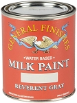 General Finishes Milk Paint Reverent Gray Quart