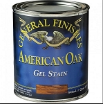 General Finishes Gel Stain American Oak Quart