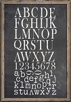 Iron Orchid Designs Typesetting Decor Stamps