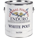 General Finishes Enduro White Poly Gallon (Satin)
