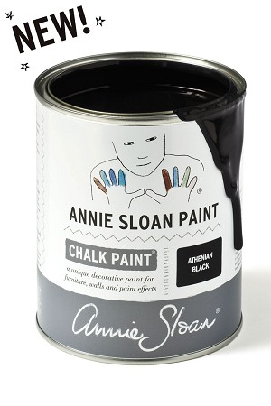 Athenian Black Chalk Paint® Litre