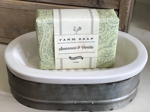 Park Hill Farm Soap - Spearmint & Vanilla