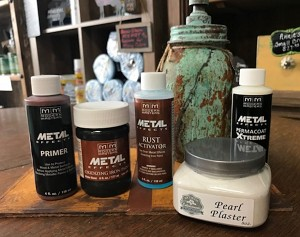 Iron & Pearl Plaster Design Kit from Facebook LIVE