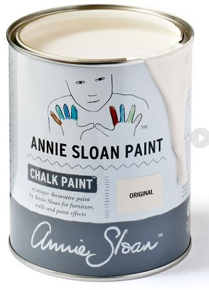 Original Chalk Paint® Litre (a warmer white with subtle ochre undertone)