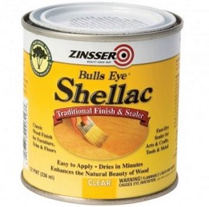 Zinsser Bulls Eye Shellac  - Clear 1/2 Pint