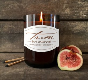 Trim Candle - FIG & RHUBARB