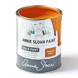 Barcelona Orange Chalk Paint® Litre  (softer in color from quart color)