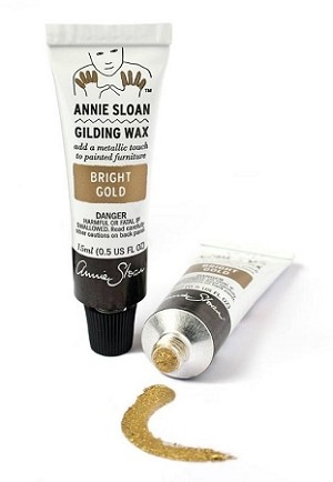 Annie Sloan Gilding Wax- BRIGHT GOLD 15 ml tubes