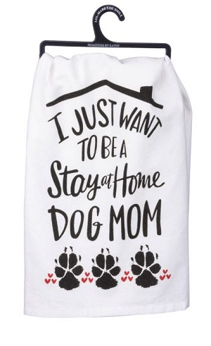 Dog Mom Dish Towel