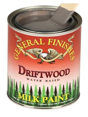 General Finishes Milk Paint Driftwood Pint