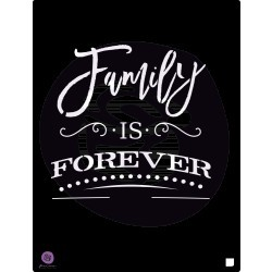 """Family Is..."" Stencil"