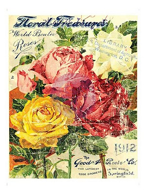 Iron Orchid Designs Décor Transfer - Floral Treasures 11x14