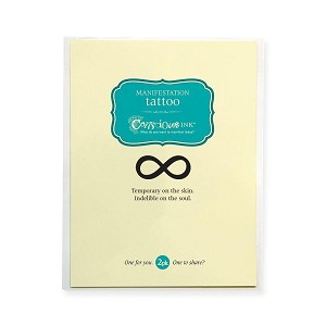 Infinity Temporary Tattoo (1.5' x 2') - 2 Pack