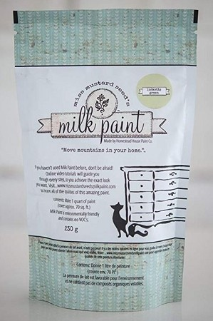 Lucketts Green Milk Paint Quart