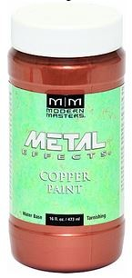 Copper Reactive Metallic Paint 16 oz STEP 2 for Patina Copper