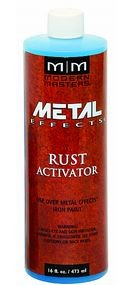 Modern Masters Rust Activator Solution - 16 oz.