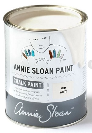 Old White Chalk Paint® Litre  **NOTE this is a NEW color -there is NO yellow to it**