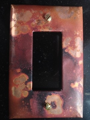 Galaxy Single Rocker Electrical Switch Cover