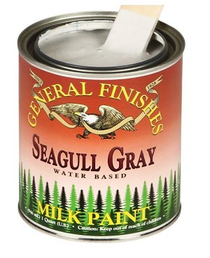 General Finishes Milk Paint Seagull Gray QUART