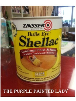 Bulls Eye Shellac - CLEAR Quart
