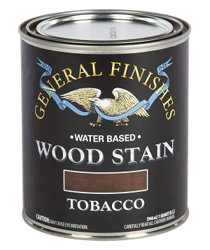 General Finishes Water Based Wood Stain - Tobacco Pint