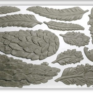 Wings and Feathers Decor Moulds (6x10)